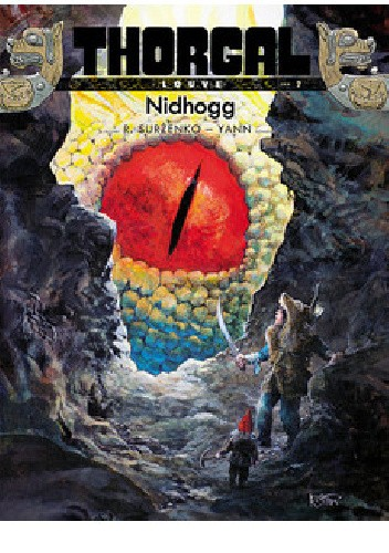 Okładka książki Thorgal - Louve: Nidhogg