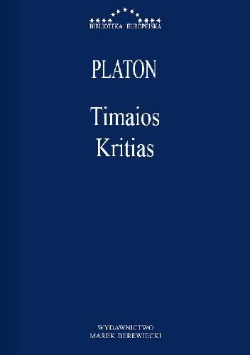 Okładka książki Timaios, Kritias
