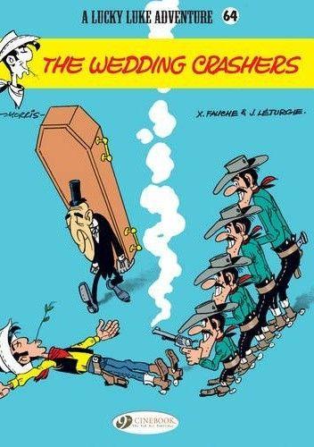 Okładka książki Lucky Luke - Daltonowie na weselu
