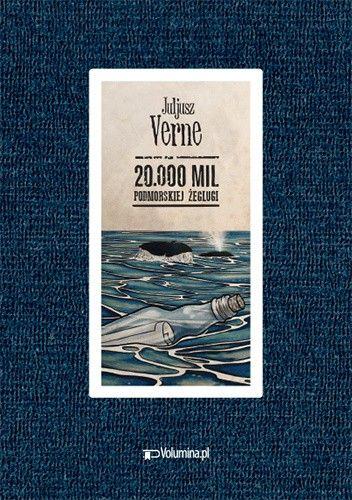 Okładka książki 20.000 mil podmorskiej żeglugi