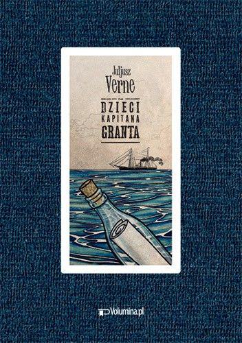 Okładka książki Dzieci kapitana Granta