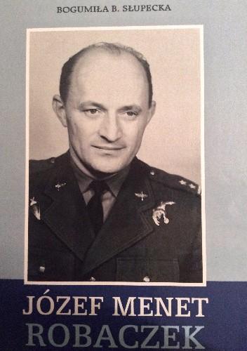 Okładka książki Józef Menet Robaczek