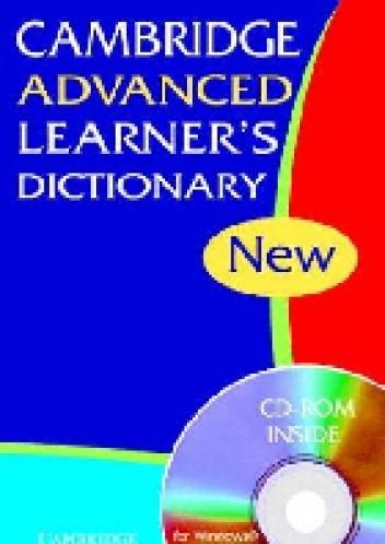 Okładka książki Cambridge Advanced Learner's Dictionary