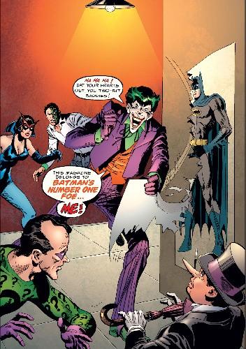 Okładka książki Joker: The Clown Prince of Crime