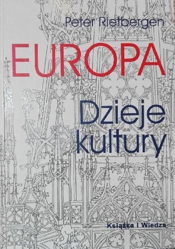 Okładka książki Europa. Dzieje kultury