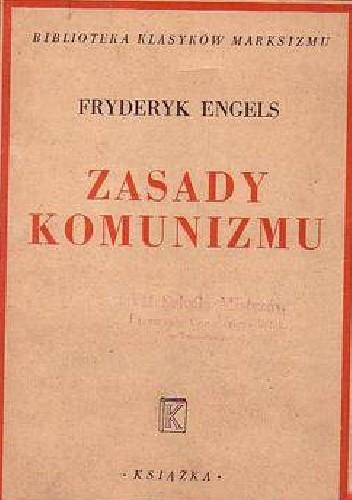 Okładka książki Zasady komunizmu