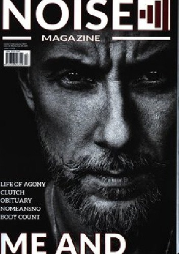 Okładka książki NOISE MAGAZINE nr 2(13) kwiecień 2017