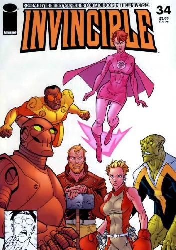 Okładka książki Invincible #34
