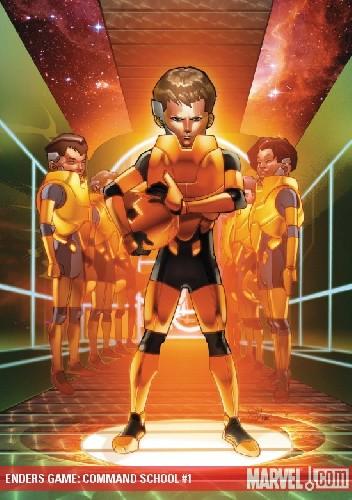 Okładka książki ENDERS GAME: COMMAND SCHOOL (2009) (#1-5 cała seria)