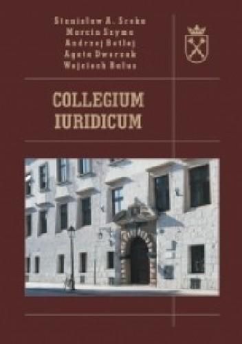 Okładka książki Collegium Iuridicum