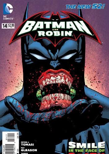 Okładka książki Batman & Robin #14