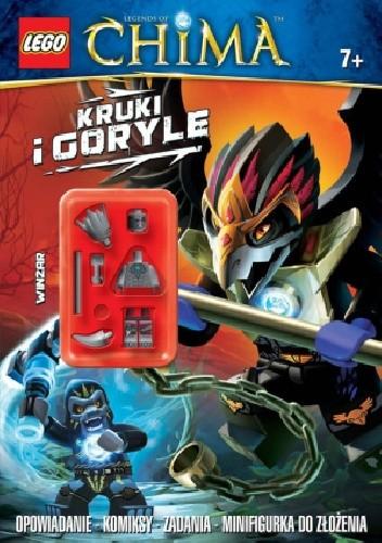 Okładka książki Kruki i goryle