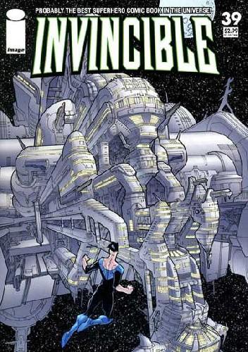 Okładka książki Invincible #39
