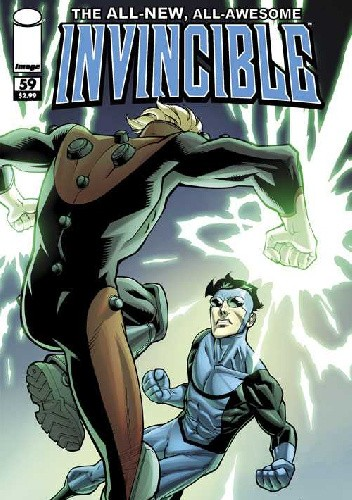 Okładka książki Invincible #59