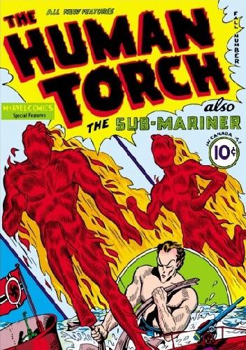 Okładka książki Human Torch #2