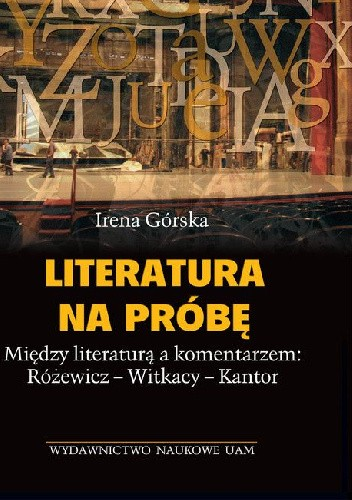 Okładka książki Literatura na próbę
