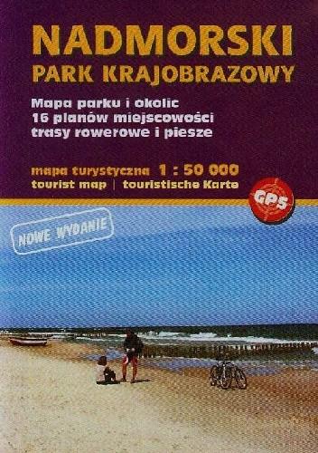 Okładka książki Nadmorski Park Krajobrazowy Mapa turystyczna 1:50 000