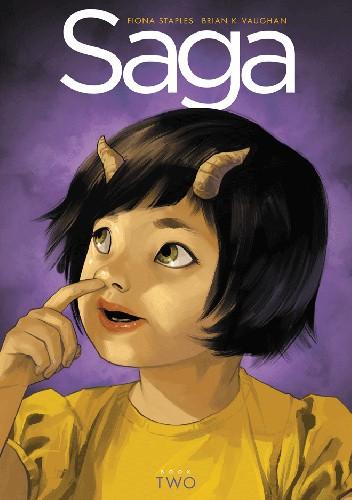 Okładka książki Saga: Book Two Deluxe HC