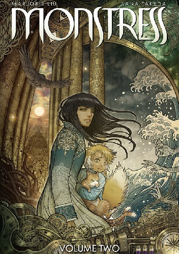 Okładka książki Monstress Vol. 2: The Blood