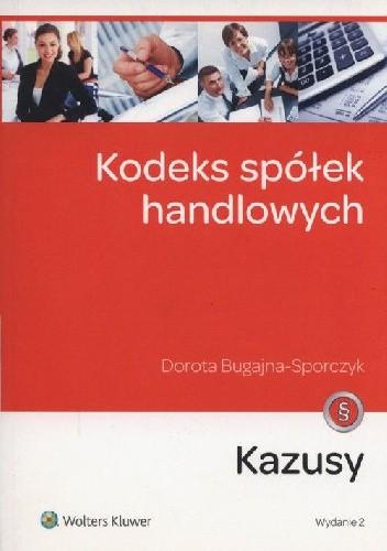 Okładka książki Kodeks spółek handlowych Kazusy