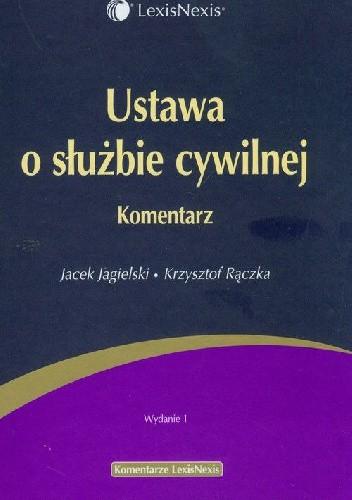 Okładka książki Ustawa o służbie cywilnej Komentarz