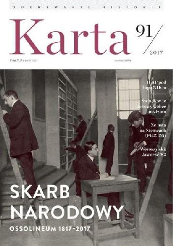 Okładka książki Karta. Kwartalnik historyczny nr 91