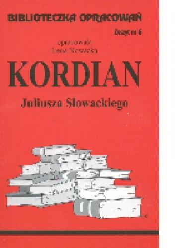 Okładka książki Kordian Juliusza Słowackiego