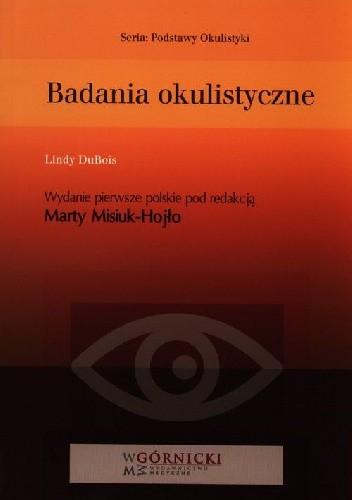 Okładka książki Badania okulistyczne