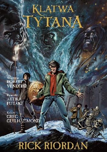 Okładka książki Klątwa Tytana. Powieść graficzna