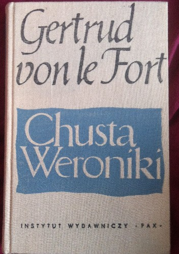 Okładka książki Chusta Weroniki