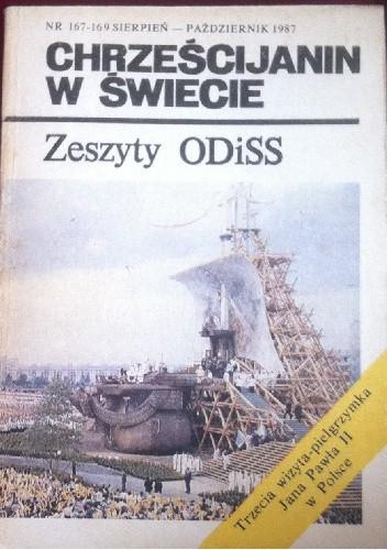 Okładka książki Chrześcijanin w świecie  nr 167-169 sierpień -październik 1987