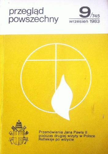 Okładka książki Przegląd powszechny  9/745 wrzesień 1983