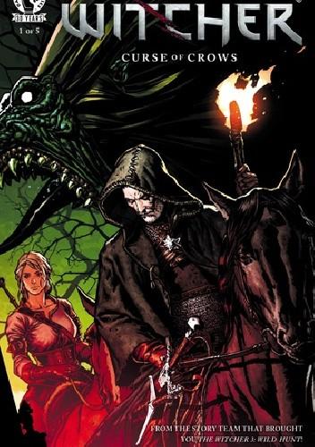 Okładka książki The Witcher Curse of Crows #1