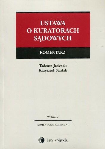 Okładka książki Ustawa o kuratorach sądowych Komentarz Wydanie 2