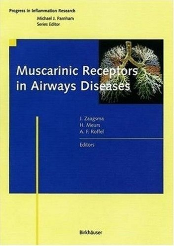 Okładka książki Muscarinic Receptors in Airways Diseases
