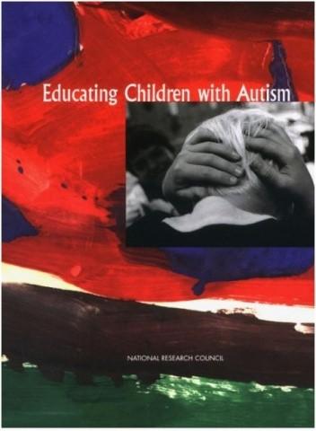Okładka książki Educating Children with Autism