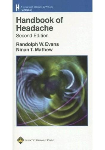Okładka książki Handbook of Headache