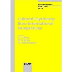 Okładka książki Cultural Psychiatry Euro-International Perspectives