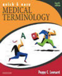Okładka książki Quick and Easy Medical Terminology 4e