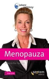 Okładka książki Menopauza