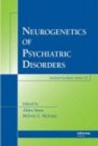 Okładka książki Neurogenetics of Psychiatric Disorders