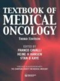 Okładka książki Textbook of Medical Oncology
