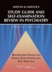 Okładka książki Kaplan and Sadock's Study Guide and Self-examination Review