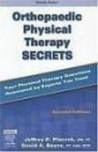 Okładka książki Orthopaedic Physical Therapy Secrets