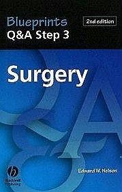 Okładka książki Blueprints Q&A Step 3 Surgery