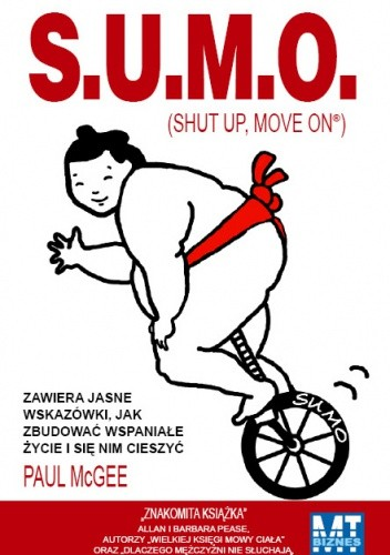 Okładka książki S.U.M.O. (Shut Up, Move On)