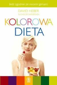 Okładka książki Kolorowa Dieta
