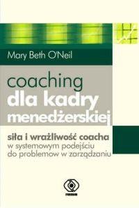Okładka książki Coaching dla kadry menedżerskiej