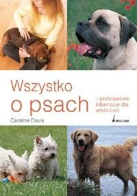 Okładka książki Wszystko o psach