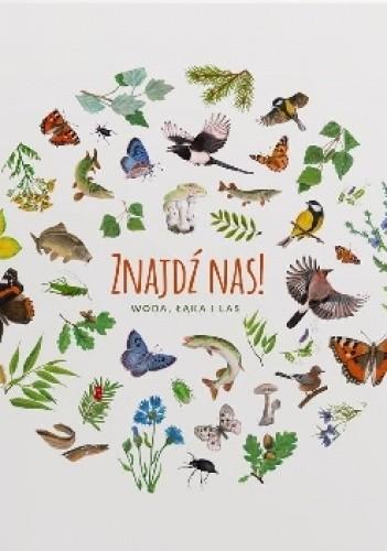 Okładka książki Znajdź nas! Woda, łąka, las